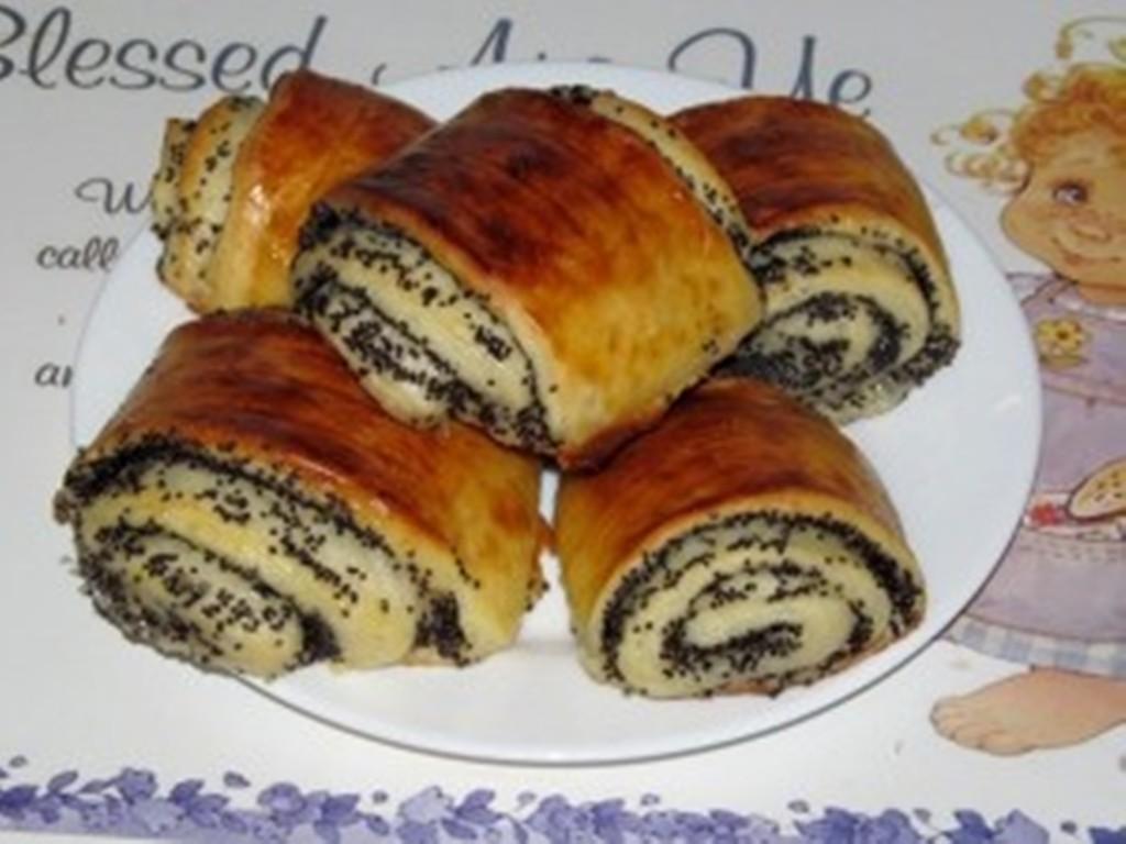 Рецепты булочек в духовке с маком