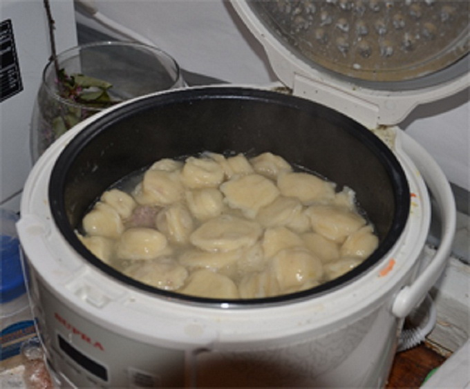 Хинкали рецепт приготовления с фото в мультиварке