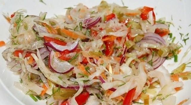 Салат зима кулинарные рецепты на