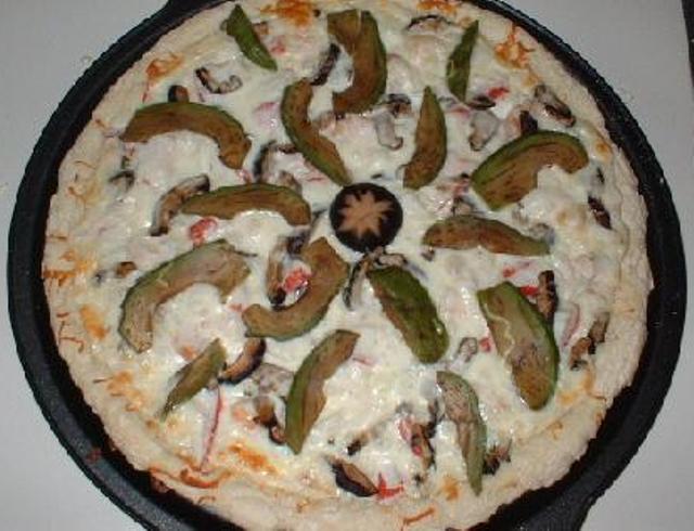 Пицца японская