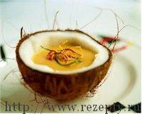 Суп из кокосового ореха