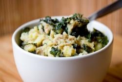 Ирландское картофельное пюре с капустой