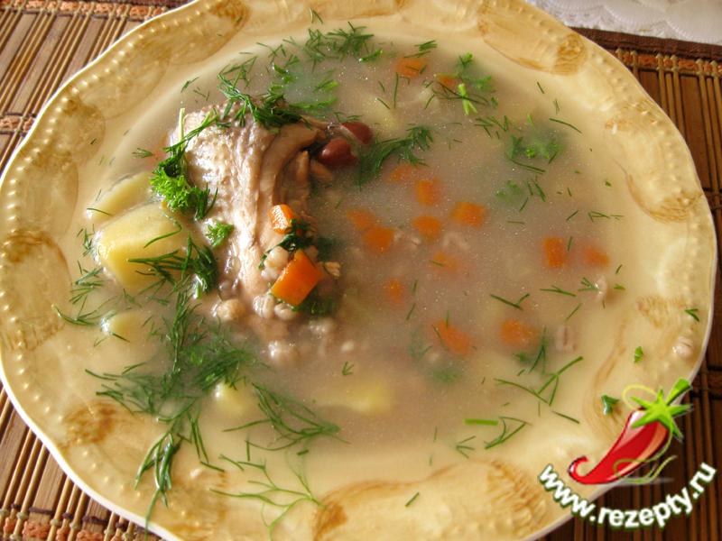 Суп «Деревенский»