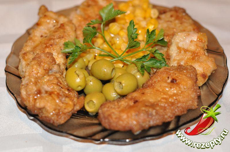 Отбивные из куриного филе - bufeta.net
