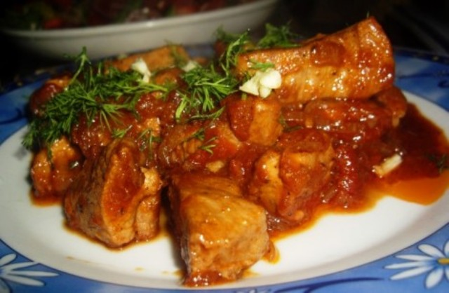 Свинина по-итальянски