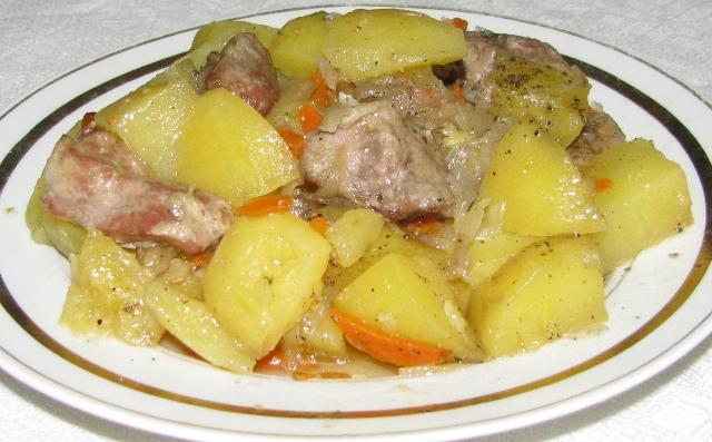 картошка в духовке в фольге с фото