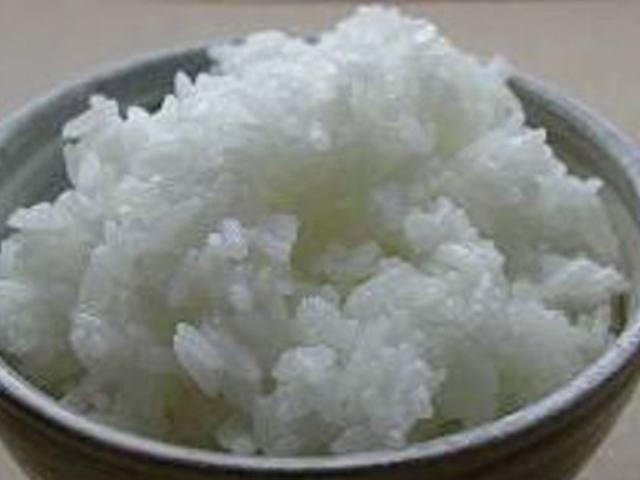 Проваренный рис