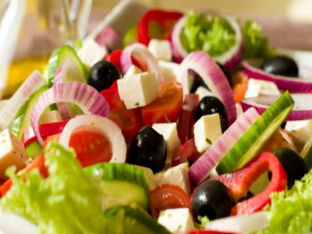 Легкий греческий салат