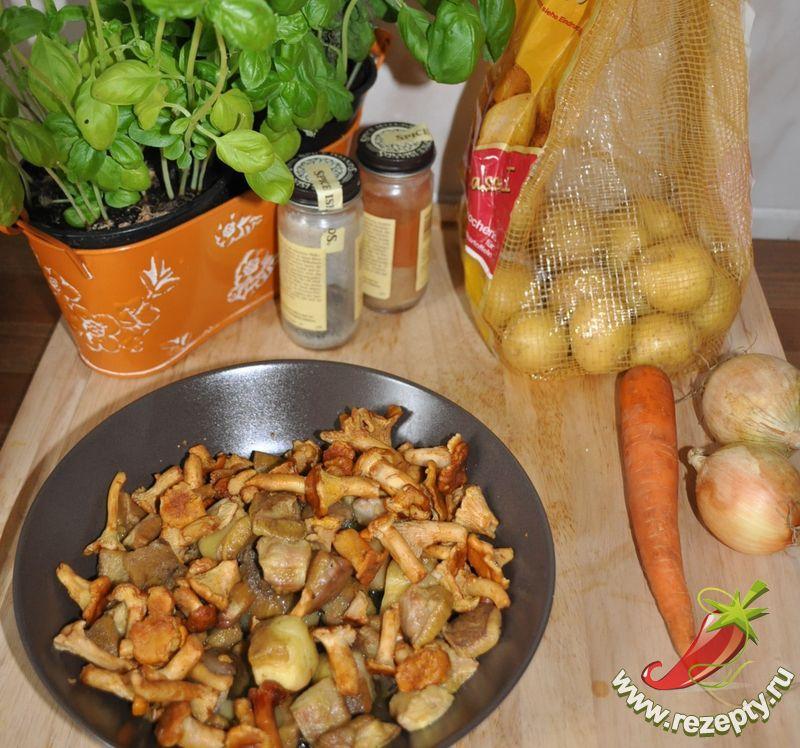 Салаты из замороженных грибов рецепты