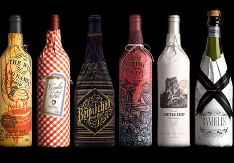 Необычная упаковка для вина своими руками 79