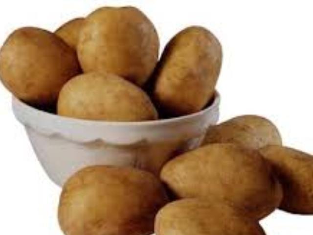 Помытый картофель