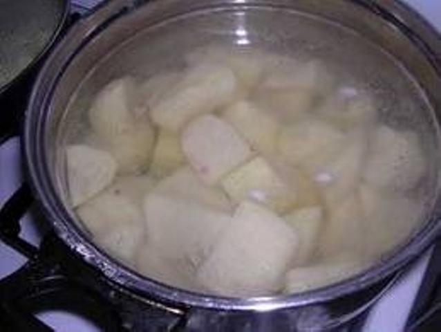 Теперь картошку