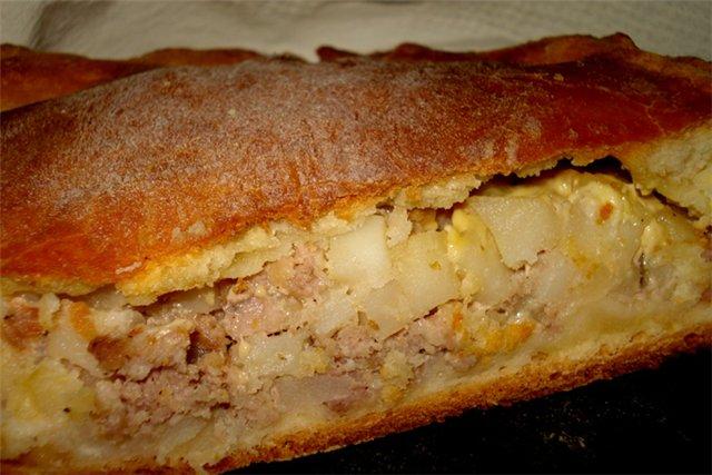 Курник с курицей и картошкой – пирог со вкусом из детства