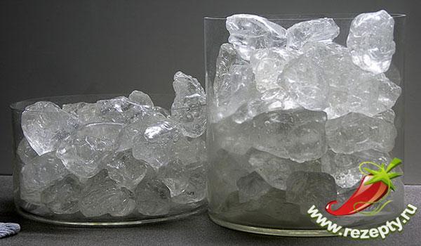 Наколотый лед