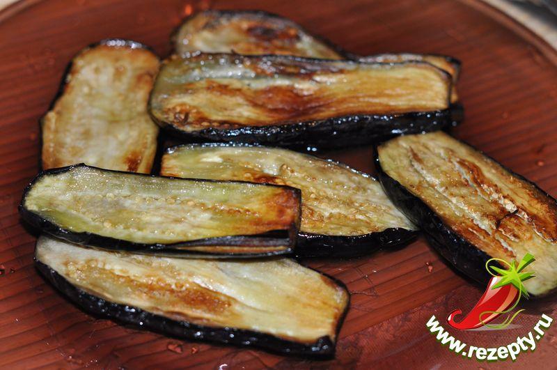 Острые баклажаны с чесноком за 10 минут