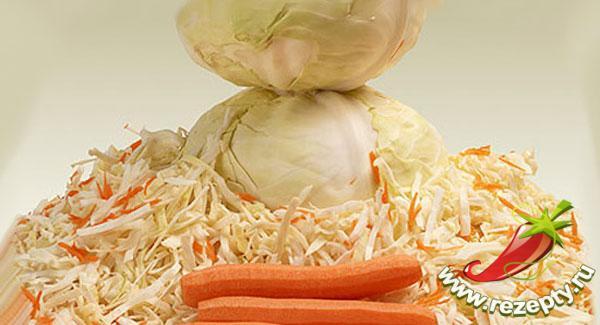Овощи для квашения капусты
