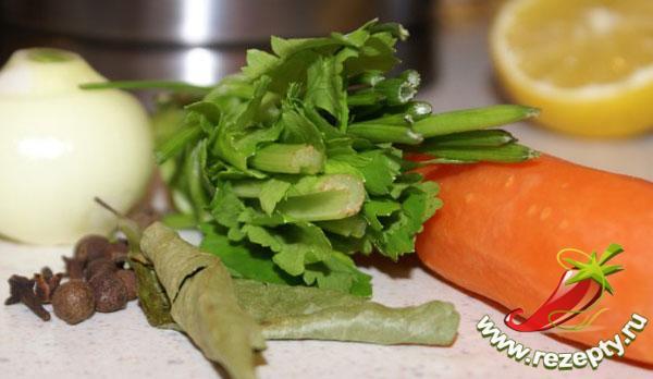 Овощной набор для заливного