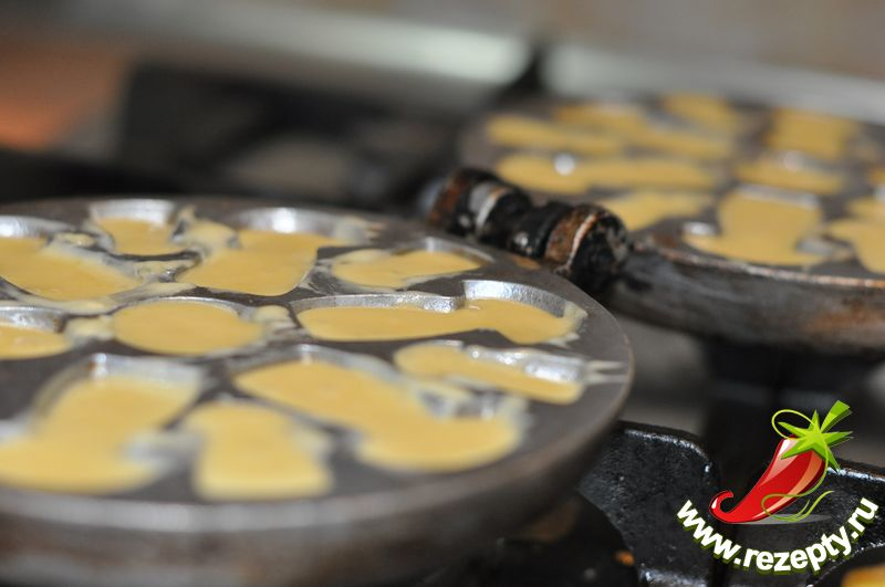 рецепт печенья в форме орешков в духовке