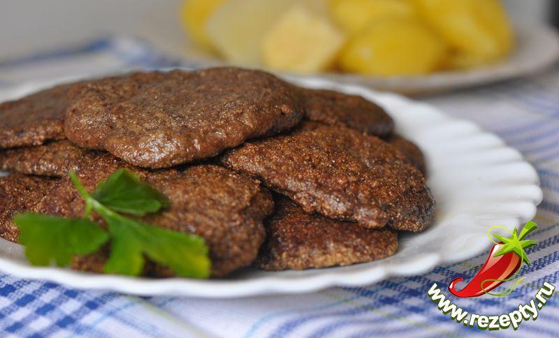 рубленные котлеты из печени говяжьей рецепт с фото