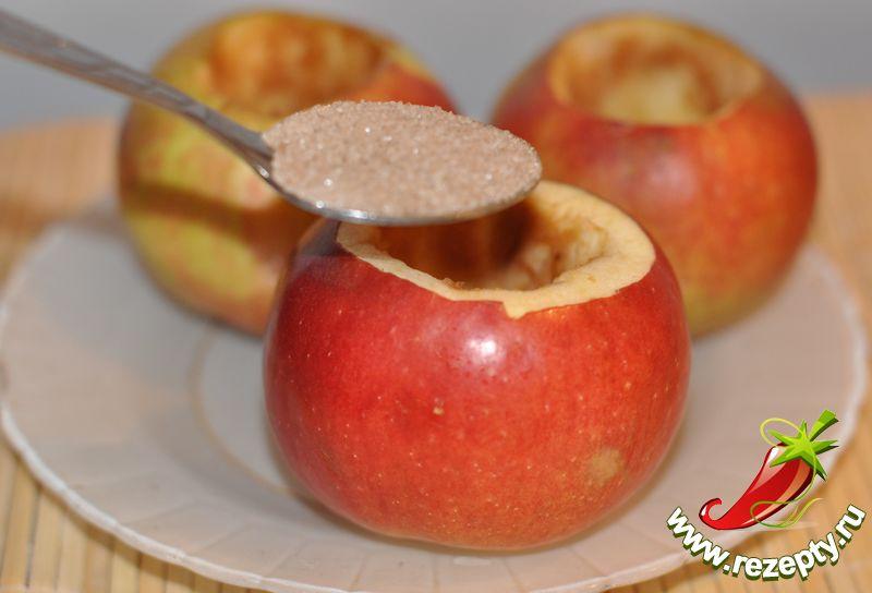 Простой печёных яблок