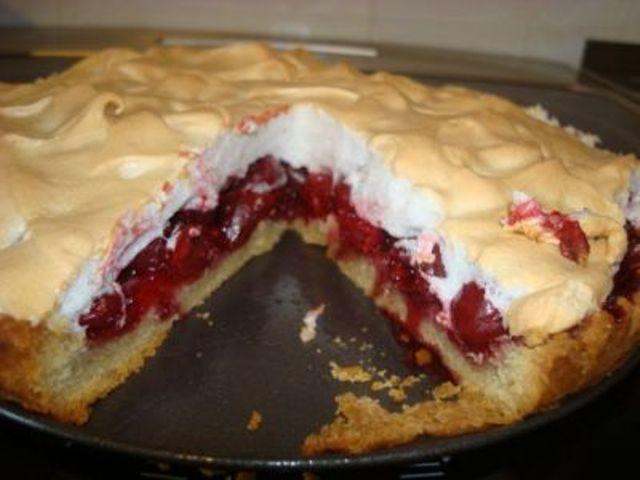 Пирог из ягод «Воздушная свежесть»