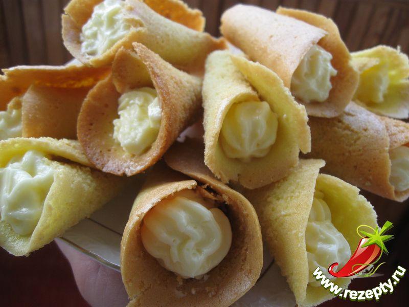Пирожное каллы рецепт