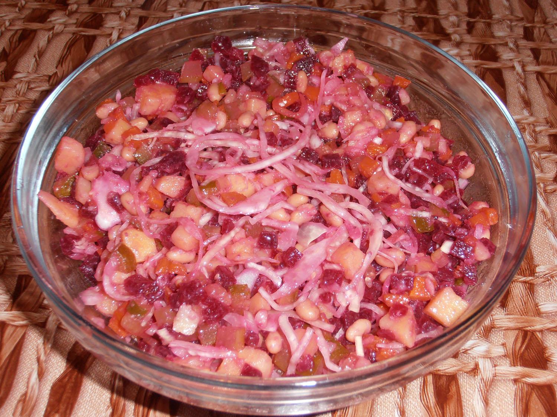 Классический салат винегрет рецепт пошагово