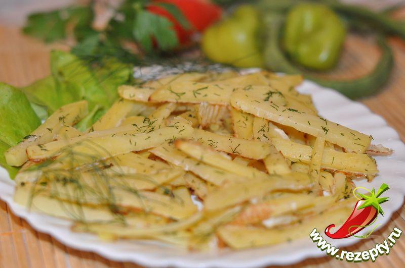 Приготовление картошки в духовке