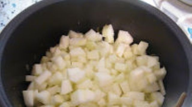 Приготовленные овощи
