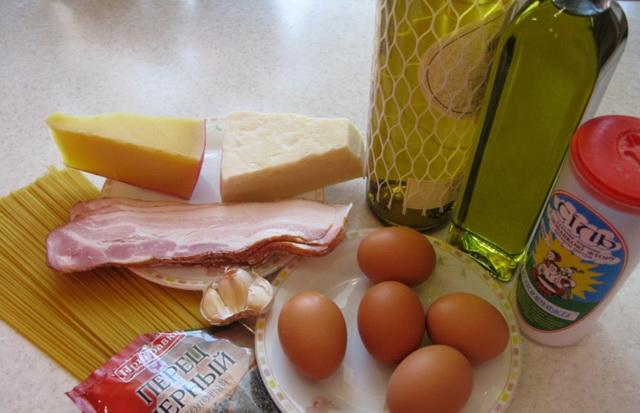 паста карбонара пошаговый рецепт с фото