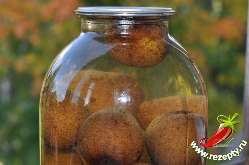 компот из груши на зиму рецепты фото