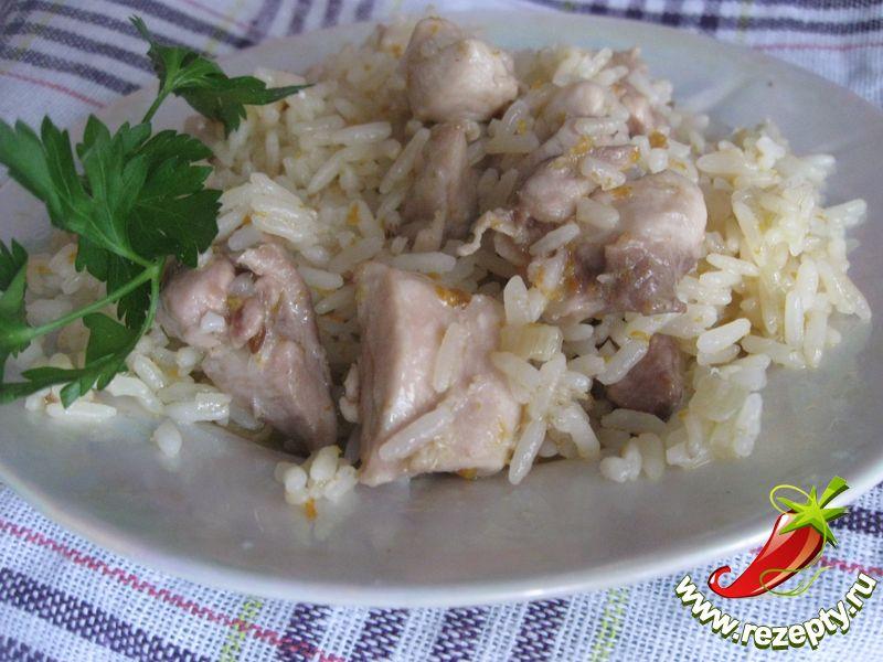Рецепт курицы с рисом
