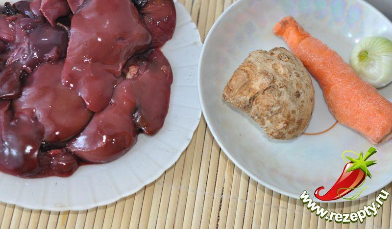Паштет из куриной печени запеченный рецепт пошагово