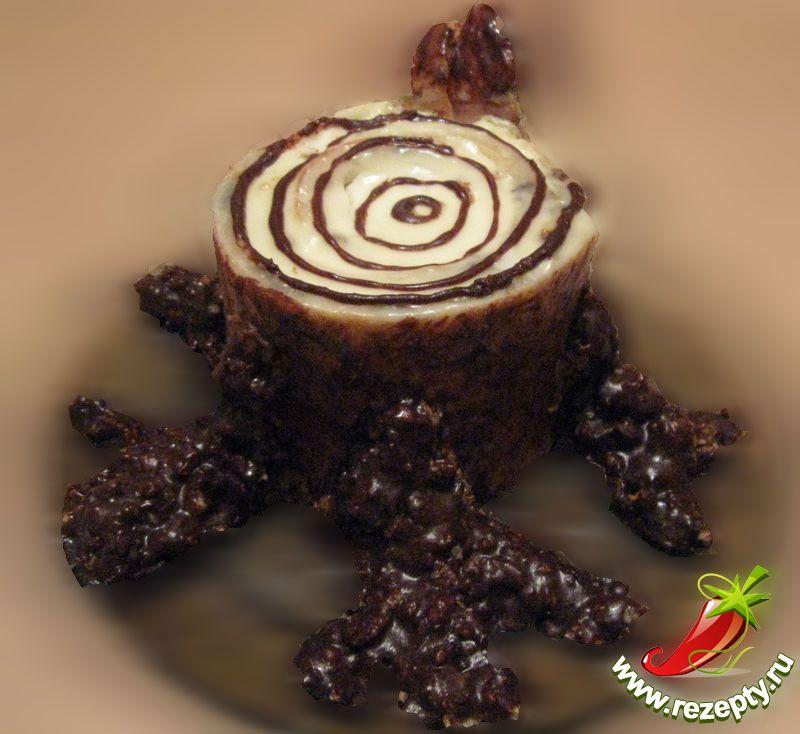 Рецепт торта трухлявый пень