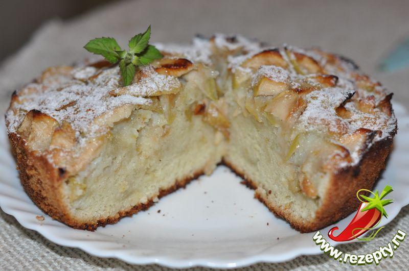 рецепты приготовления пирога с яблоками