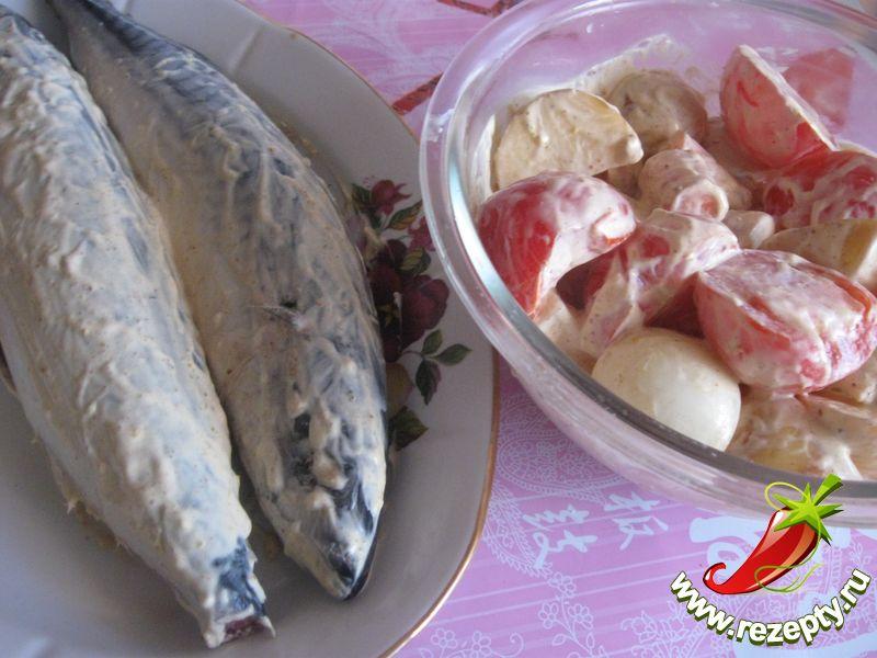 Рыба в рукаве с овощами рецепт пошагово