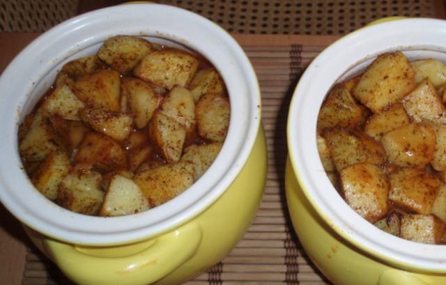 Подготовленный картофель