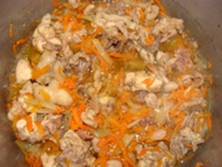Тушеная картошка с курицей в скороварке рецепты