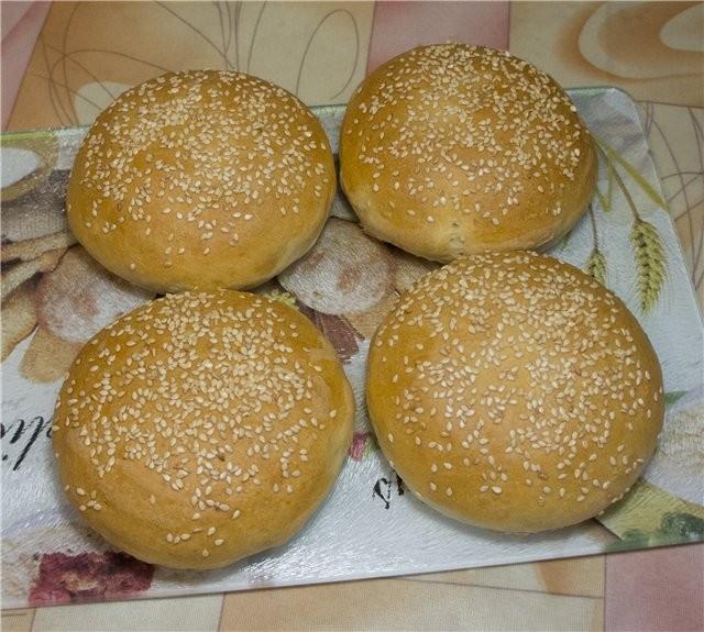 рецепты гамбургеров в духовке