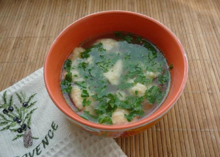 Вкуснейший куриный суп рецепт, которого очень прост
