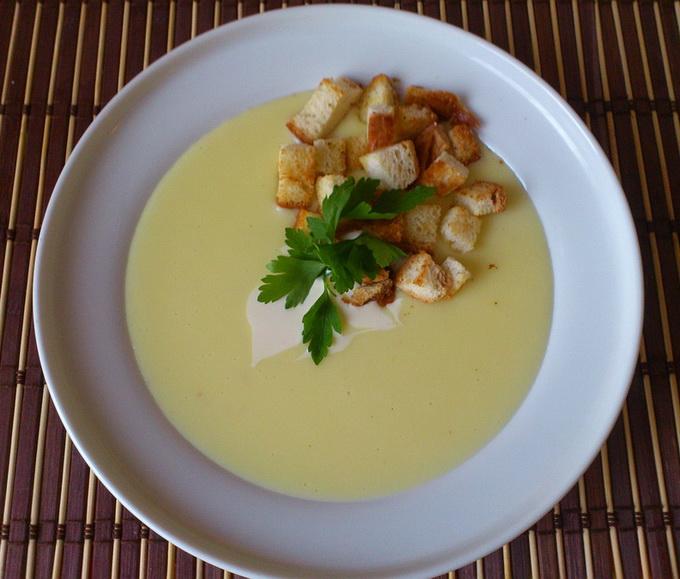 Как сделать сырный суп как в ресторане