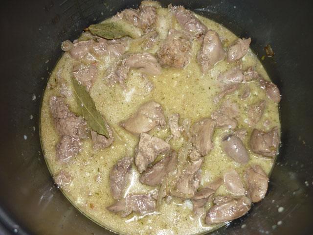 Куриная печень с картошкой в мультиварке рецепты с фото
