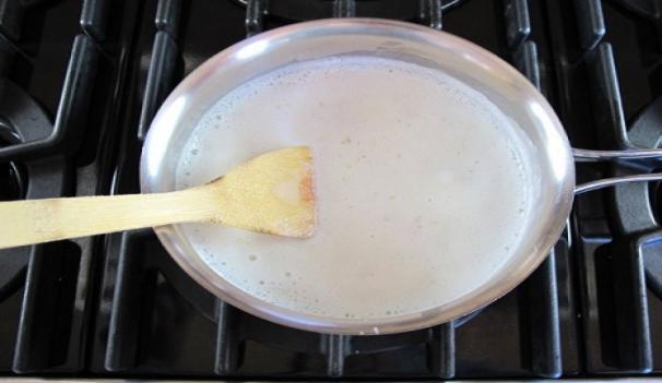 Ставим на плиту