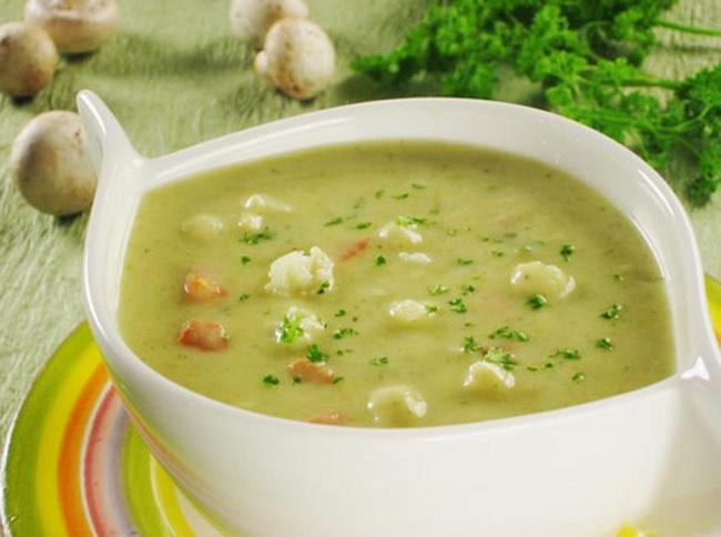 суп куриный с цветной капустой фото