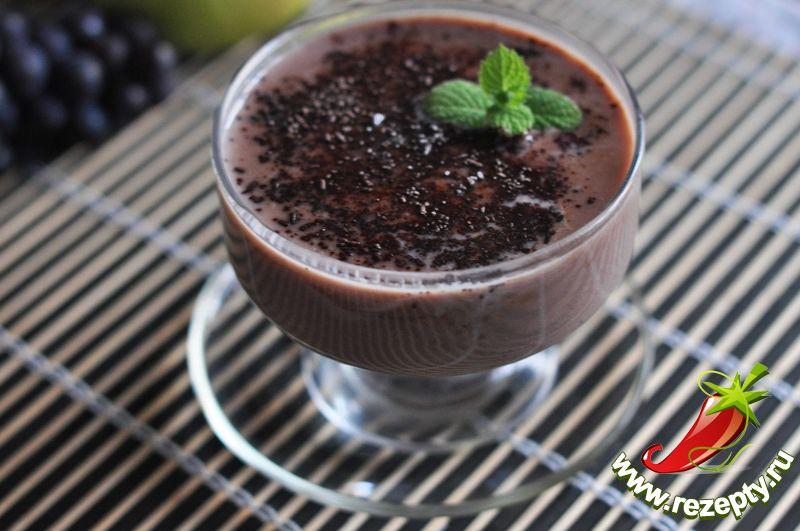 Шоколадный кисель