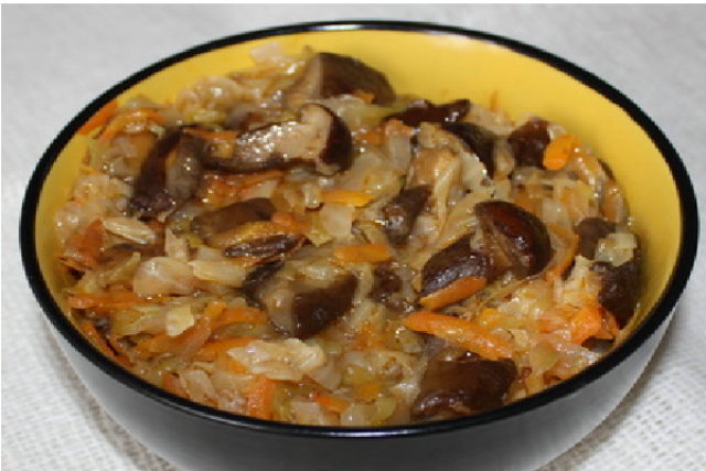 Как приготовить солянку из грибов и капусты
