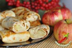 Блинчики с яблоками
