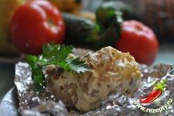 Картофель на костре