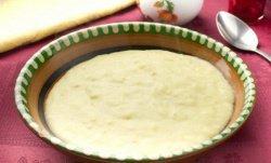 Кукурузная каша с сыром