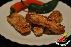 Куриное филе, маринованное в сливках
